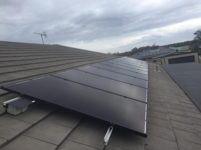 solar panel rooftop installation south coast nsw