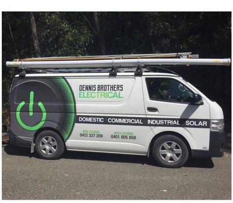 dennis brothers electrical services nowra nsw van