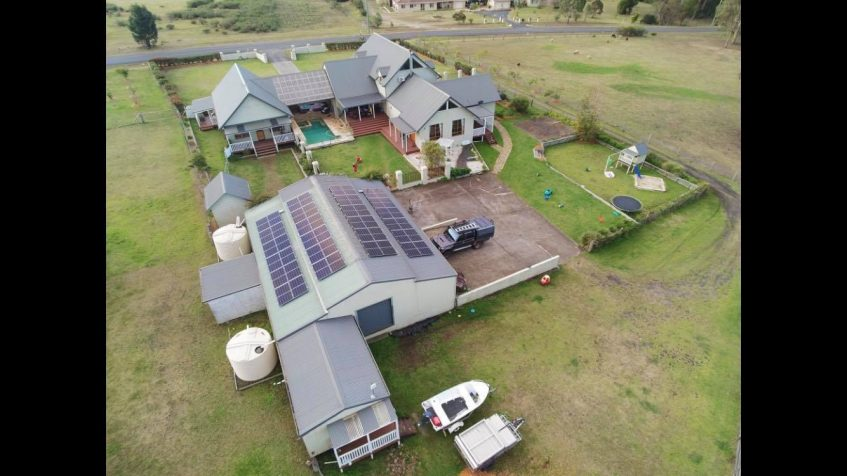 dennis brothers residential solar panel installation south coast nsw