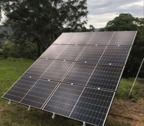 ground mounted solar panels nsw south coast